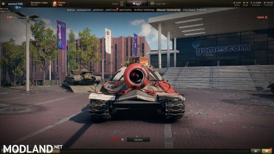 IS-7 Racing Pattern Skin 1.4 [1.4.0.1], 5 photo
